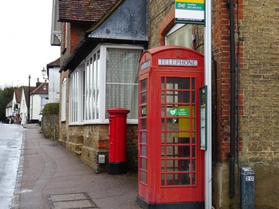 Defibrillator in Watton-at-Stone