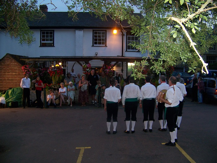 Morris Dance at The Bull Pub